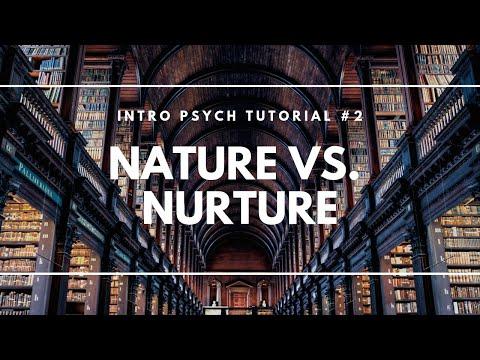 Nature versus Nurture (Intro Psych Tutorial #2)