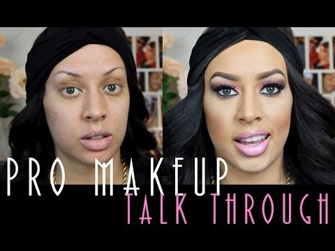 Pro Application: Makeup Tutorial Talk Through! thumbnail