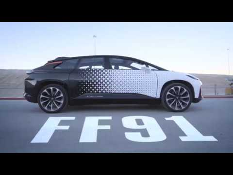 CES 2017 | Faraday Future FF 91 — Test Drive and Review #3 / Тест-Драйв и Обзор #3 [HD]