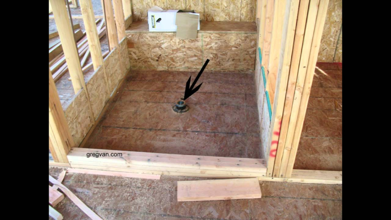 Home Construction Shower Building Mistakes Youtube