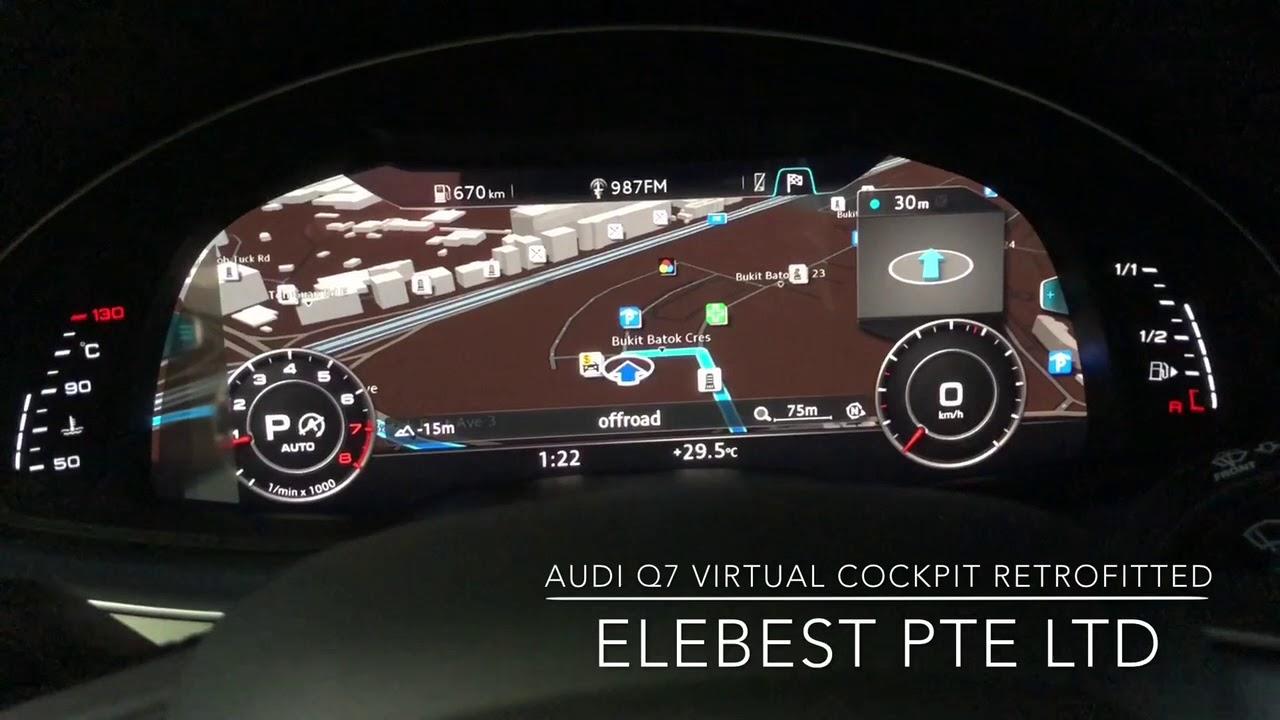 AUDI Q7 Virtual Cockpit Retrofitted