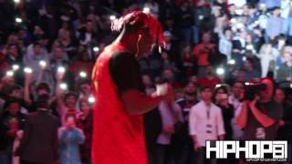 lil yachty performs broccoli minnesota one night during halftime wizards vs hawks game