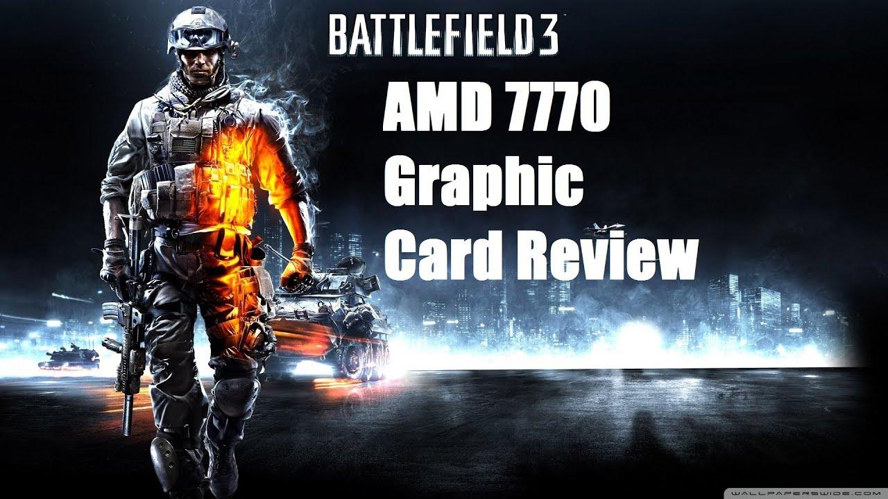Battlefield 3 AMD Radeon 7770 Graphic Card Review (720p ...