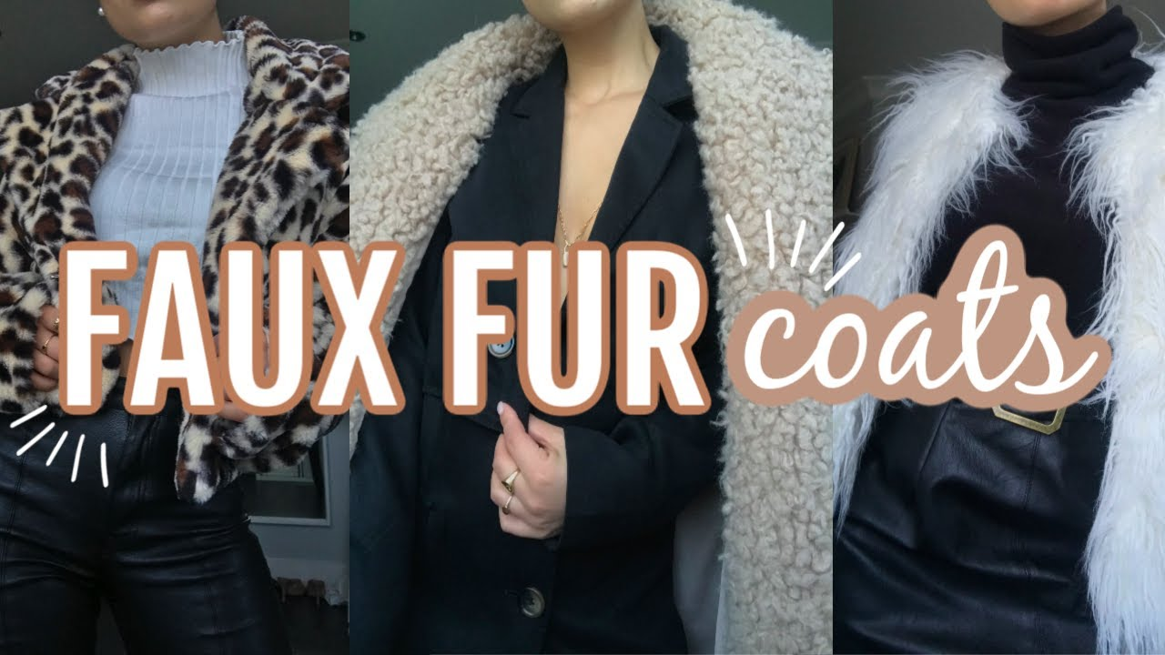 [VIDEO] - HOW TO STYLE A FAUX FUR COAT | Winter Outfit Ideas 2019 9