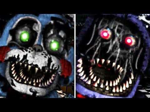 Nightmare Bonnie In Toy & Withered Form | UCN Mods