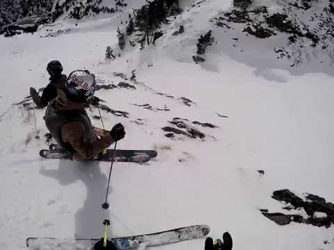 How Not to Follow Jeremie Heitz in Vallnord