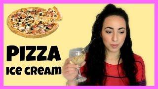 Δοκιμάζω Παγωτό Pizza!
