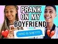 "Prank on My Boyfriend!  ""WHO IS SHE?"""