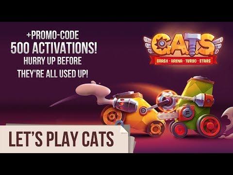 Let's Play C.A.T.S: Crash Arena Turbo Stars (Live Stream #36)