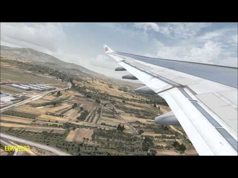 FSX HD 1080p - Emirates Airbus A330 TAKE OFF Flytampa Athens!! ( UTX, GEX, REX )