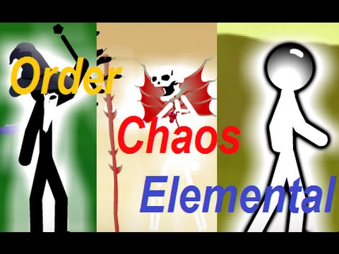 Stick Empires: Order, Chaos, and Elemental Themes!