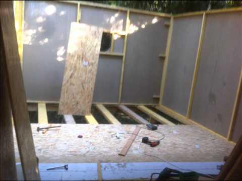 Construction grande cabane en hauteur youtube for Cabane en bois 10m2