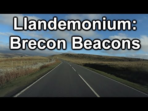 Vlog 29: Campervan trip to the Brecon Beacons, Wales (Part 1 of 2)