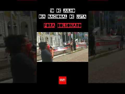 Ato Público simbólico realizado em Maceió pelo Fora Bolsonaro