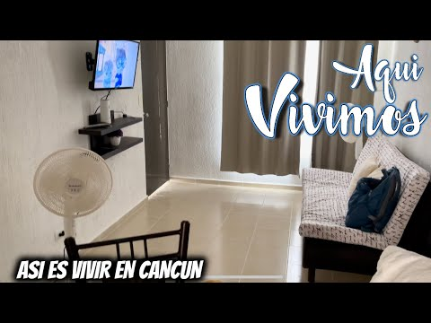 🔴 Así es VIVIR en Cancun 😲 Les damos 1 House Tour 💁♀️ Asi es vivir en Cancun ❤️ POR FIN LLEGAMOS