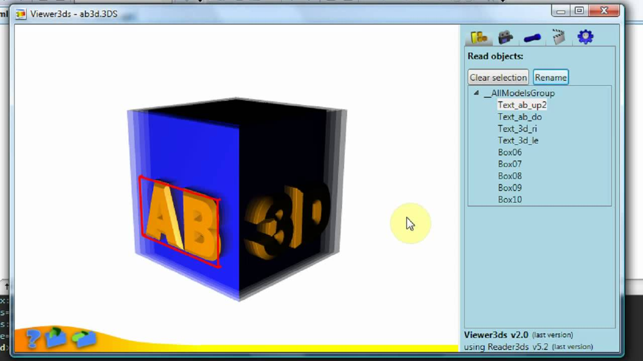 Viewer3ds is a 3ds to XAML converter for WPF