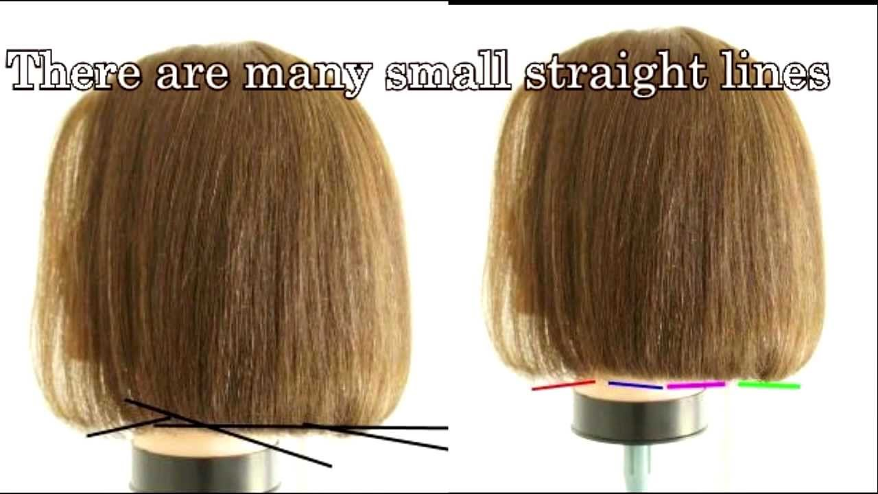 How to cut hair - one length haircut tutourial #12 Professional Teresa one  length cut