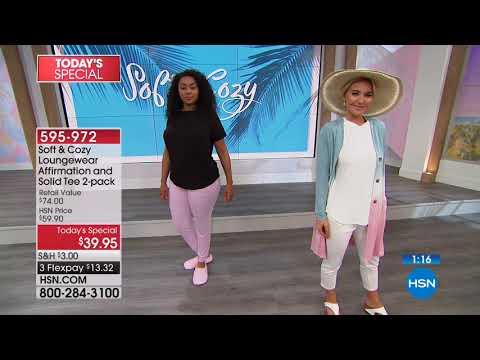 HSN   Soft and Cozy Loungewear Premiere / FitFlop Footwear 03.29.2018 - 01 AM