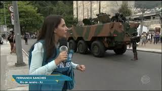 Comunidade da Rocinha assiste ao confronto entre traficantes rivais