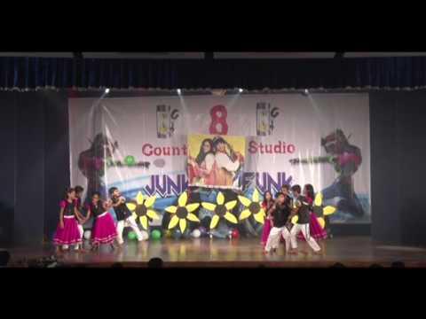 8counts dance studio annual showcase JUNK TO FUNK