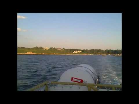 A Ride On The Fishers Island Ferry; New London, CT - Fishers Island, NY