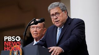 WATCH LIVE: House votes on whether to hold Barr and Ross in contempt