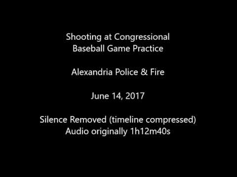 Congressional Baseball Practice Shooting Audio - Silence Removed - from Alexandria Police & Fire