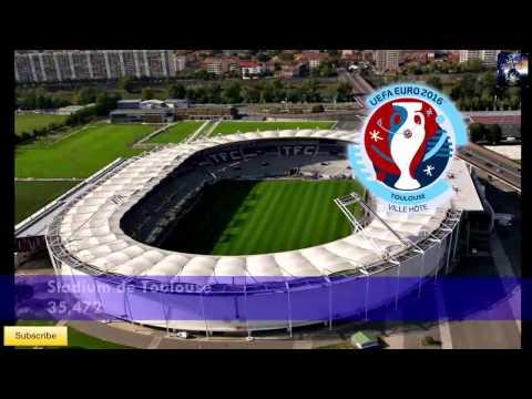 Euro 2016 France ● Stadiums