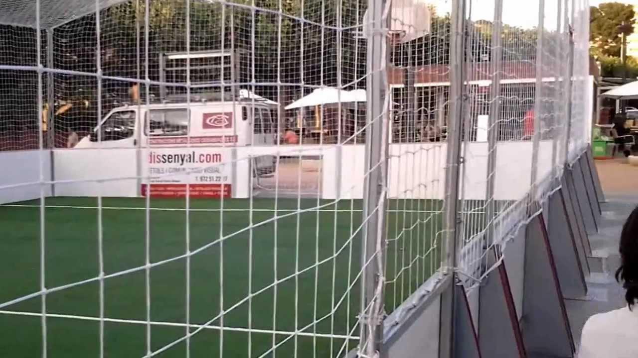 C sped artificial campo de futbol 3 en sant feliu de gu xols girona mp4 youtube - Cesped artificial girona ...