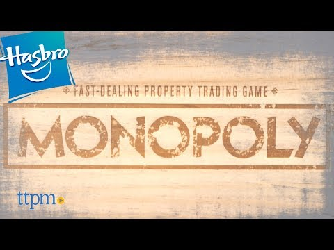 Monopoly Rustic Edition From Hasbro