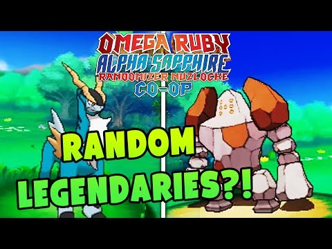 RANDOM LEGENDARY POKEMON?! | Pokemon Omega Ruby Alpha Sapphire RANDOMIZER Nuzlocke Co-Op #2