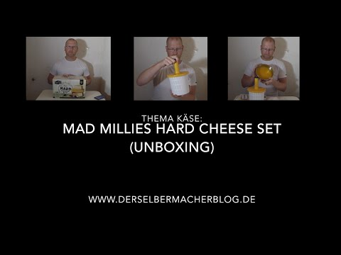 Unboxing Mad Millies Hardcheese Set / Hartkäseset