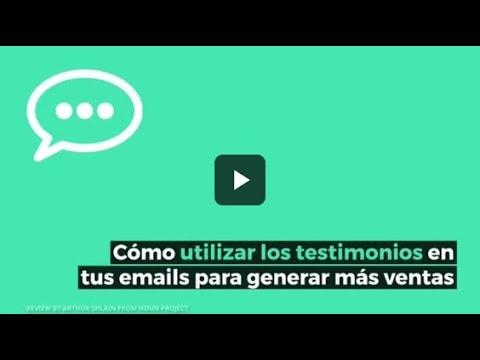 Cómo utilizar los testimonios en tus emails para generar más ventas