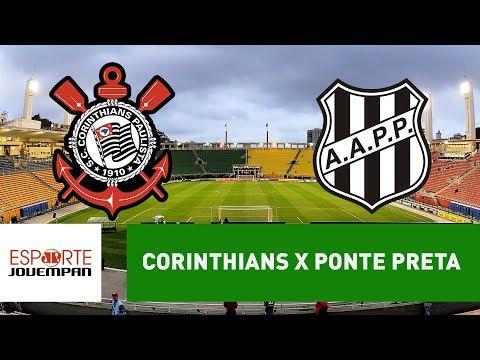 Corinthians 0 x 1 Ponte Preta - 17/01/18 - Paulistão