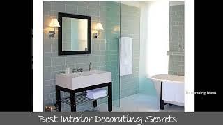 Bathroom shower glass tile designs   Modern designer floor tile design pic ideas for flooring