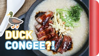 Mega Easy Duck Congee Recipe (Chinese Rice Porridge)