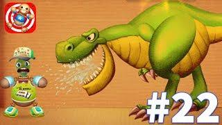 Kick the Buddy - Gameplay Walkthrough Part 22 - NEW Prehistoric Dinosaurs T- REX vs Dame tu Cosita