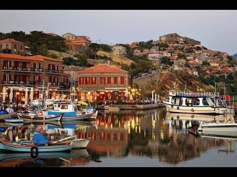 Molyvos (Mithimna) Village, Lesvos island, Greece HD