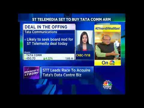 CNBC-TV18 Exclusive: ST Telemedia Set To Buy Tata Comm Arm