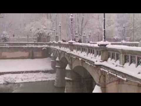 Snow on Parma by Gianmaria Pacchiani