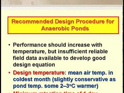 Waste stabilization pond design 3 of 7 youtube for Design of stabilisation pond