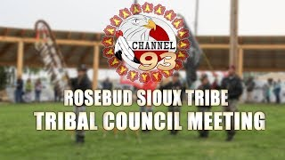 Tribal Council Meeting (05-22-2019)