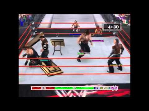Classic: WWF(WWE) RAW PC: B.O.D vs The Hardy Boyz [HD]