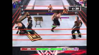 Classic: WWF(WWE) RAW PC: B.O.D vs The Hardy Boyz [HD]