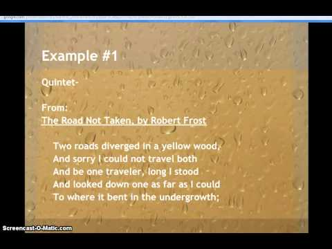 Examples of Stanza or Verse in Poetry