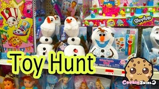 Cookieswirlc Toy Hunt - My Little Pony MLP Barbie Doll Disney Frozen Monster High Shopkins Season 3