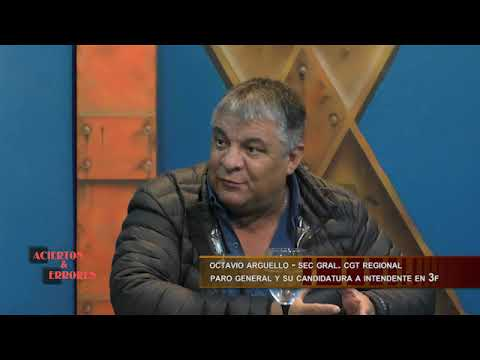 OCTAVIO ARGUELLO EN ACIERTOS Y ERRORES