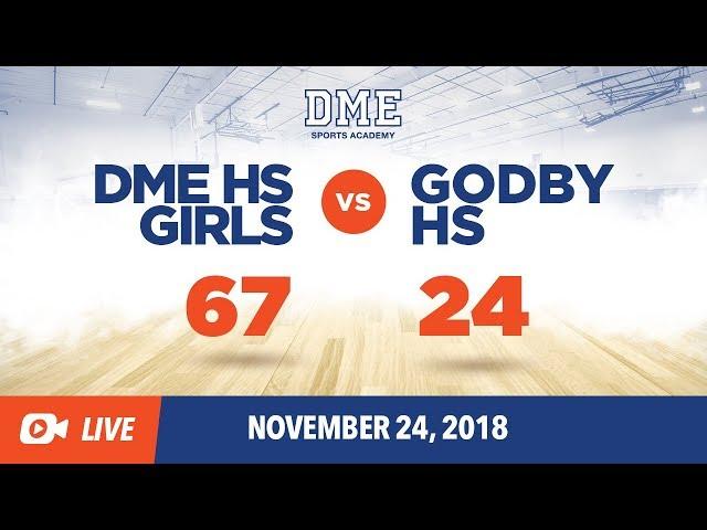 DME HS Girls vs Godby