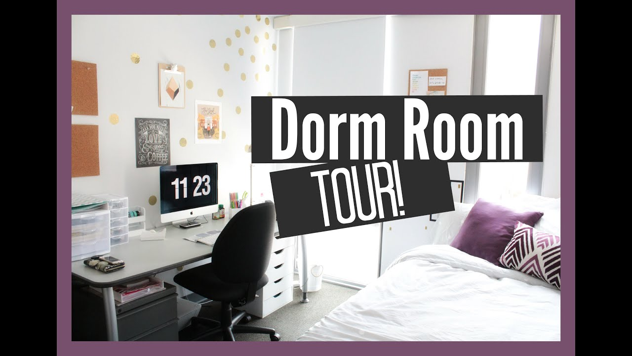 Awesome Dorm Room Tour   YouTube Photo