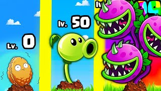 I planted THE STRONGEST PLANT in Plants vs Zombies